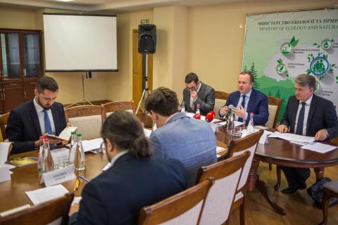Т.в.о. Голови Держгеонадр Олег Кирилюк взяв участь в засіданні Робочої групи з питань реформування відносин у сфері надрокористування