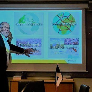 Геологічна служба Швеції готова обмінятись євпропейським досвідом з Україною