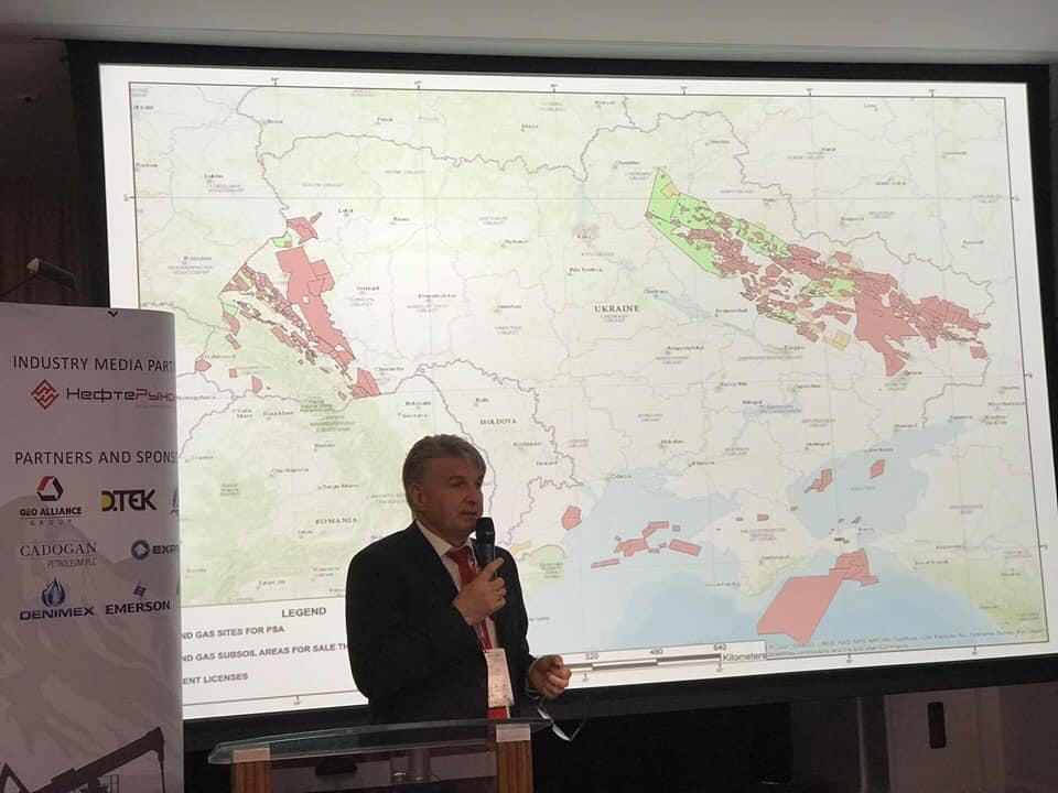 Україна подвоїла кількість ділянок виділених для видобутку нафти, газу та інших ресурсів