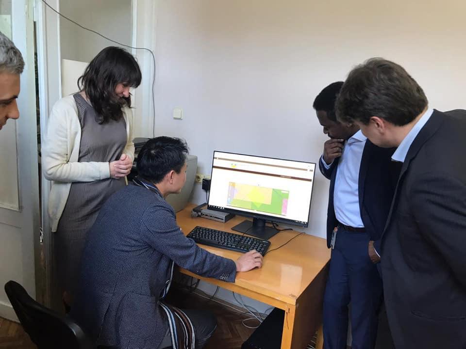 Schlumberger відвідали data-room геологічної інформації у Держгеонадрах