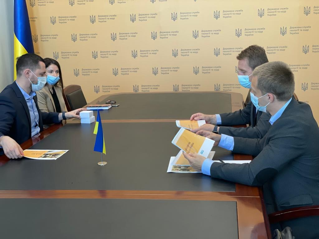 Голова Держгеонадр провів робочу зустріч із представниками Weatherford
